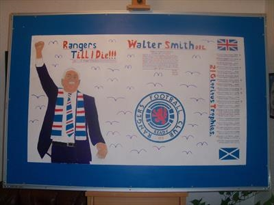 Mr Walter Smith OBE Of The Mighty Rangers. Aug 2011, HS.