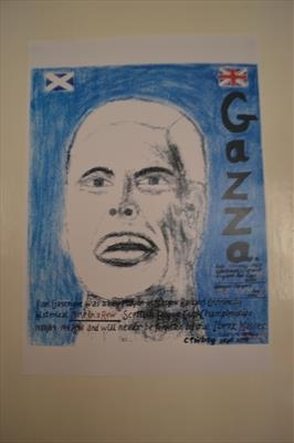 Gascoigne of Rangers, Sept 2008,  HG.