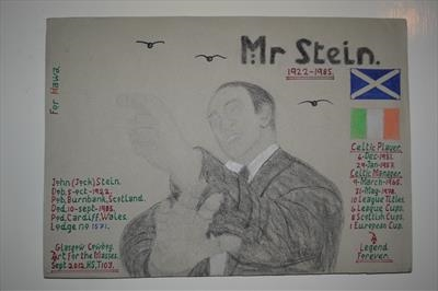 Celtic,s Mr Stein. Sept 2012,  HS and T103.