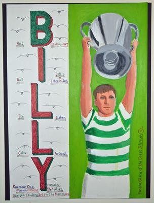 Celtic,s Billy McNeil. May 2014. HS and IP, FTGOJ 3.