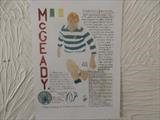 CELTIC,S McGEADY, Aug 2010, HS. by The Meek, Glasgow Cowboy., Drawing