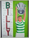 Celtic,s Billy McNeil. May 2014. HS and IP, FTGOJ 3. by Glasgow Cowboy, Painting, Acrylic on paper