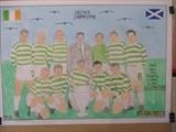 Celtic,s Lisbon Lions, 25-May-2017, FJ 37. by The Meek, Glasgow Cowboy., Drawing