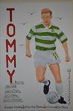 Celtic,s Tommy Burns, April 2014, HS and IP. No 7, FTGOJ 2. by Glasgow Cowboy, Painting, Acrylic on paper