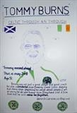 Celtic,s Tommy Burns, May 2009. Hs, No 2. by Glasgow Cowboy, Drawing
