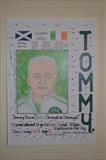 Celtic,s Tommy Burns, May 2010, HS, No3. by Glasgow Cowboy, Painting, Pastel & Ink