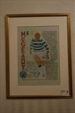 Celtic's Aiden McGeady.Aug 2010, HS and T103. by Glasgow Cowboy, Painting, Acrylic on paper