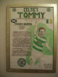 Celtics Tommy Burns, Feb 2009, McN RLP. No 1. by Glasgow Cowboy, Painting, Mixed Media