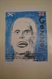 Gascoigne of Rangers, Sept 2008,  HG. by Glasgow Cowboy, Drawing