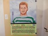 JINKY of CELTIC FC, Mar 2020, IP, HS, For JEHOVAH 59. by The Meek, Glasgow Cowboy., Painting, Oil and Acrylic on Canvas