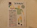 John Hartson of Celtic FC. by The Meek, Glasgow Cowboy., Drawing