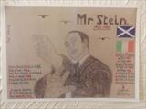 Mr Stein of CELTIC FC, Sept 2012, HS, by The Meek, Glasgow Cowboy., Drawing
