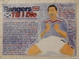 NOVO OF RANGERS FC. by The Meek, Glasgow Cowboy., Drawing