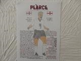 PEARCE OF ENGLAND 1, Nov 2009, RLP. by The Meek, Glasgow Cowboy., Drawing