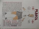 PEARCE OF ENGLAND 2, Nov 2009, RLP. by The Meek, Glasgow Cowboy., Drawing
