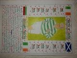 PETROV OF CELTIC FC. by The Meek, Glasgow Cowboy., Drawing