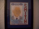 Rangers Walter Smith. Nov 2010. by Glasgow Cowboy, Painting, Mixed Media on paper