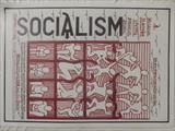 SOCIALISM 1. by The Meek, Glasgow Cowboy., Drawing