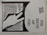 THE HAND OF GOD, Oct 2009, RLP. by The Meek, Glasgow Cowboy., Drawing