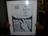 The Hand of God. Oct 2009. IPCU RLP by Glasgow Cowboy, Drawing, pencil and ink.