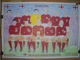 The Mighty ENGLAND 1966. July 2016, HS, FJ 30. by Glasgow Cowboy, Drawing
