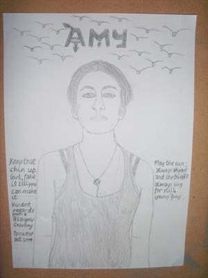 Amy 1, Aug 2015, HS. For JEHOVAH 12. by Glasgow Cowboy, Drawing