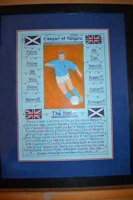 Cooper of Rangers by Glasgow Cowboy, Drawing