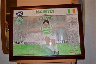 McGarvey of Celtic. Oct 2013, HS and RLP, For JEHOVAH 1. by Glasgow Cowboy, Painting, Acrylic on paper