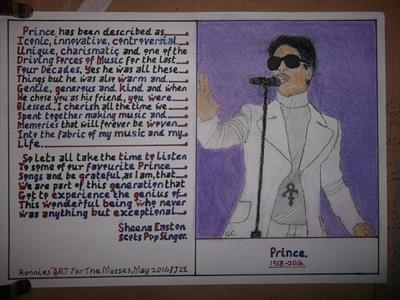 PRINCE. May 2016, HS, IP, For JEHOVAH 23. by Glasgow Cowboy, Drawing
